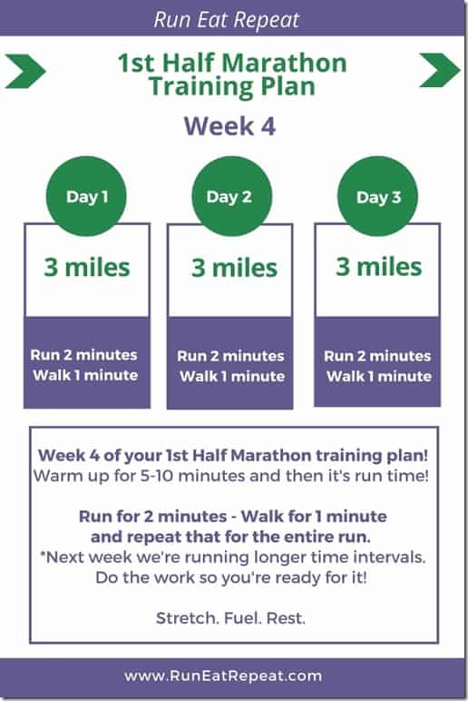 1st half marathon plan week 4 - June 2018 (533x800)