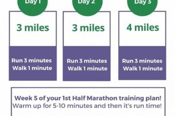 Half Marathon Training Questions–week 5
