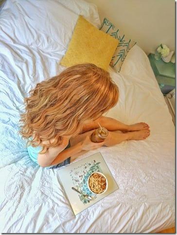Breakfast in bed cereal