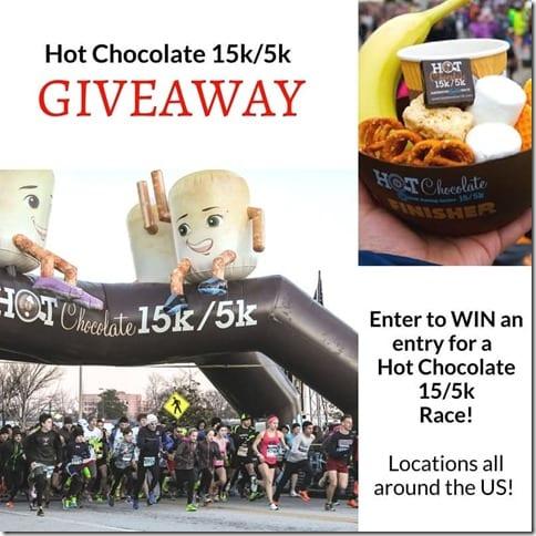 hot chocolate 15k give away