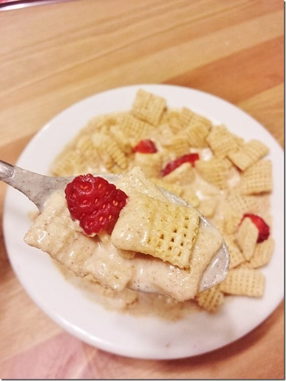 peanut butter and jelly cereal recipe