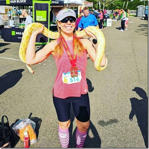 run eat repeat snake half marathon