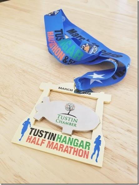 tustin hangar half marathon run