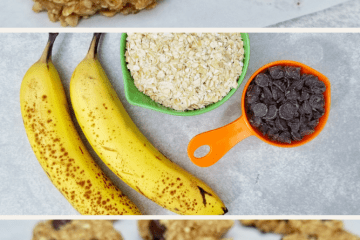 3 Ingredient Chocolate Chip Oatmeal Cookie Recipe