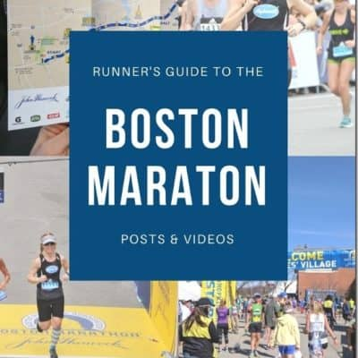 Boston Marathon Course Tips Video and a list of things you should do