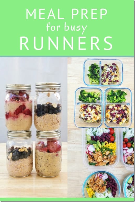 meal prep for runners