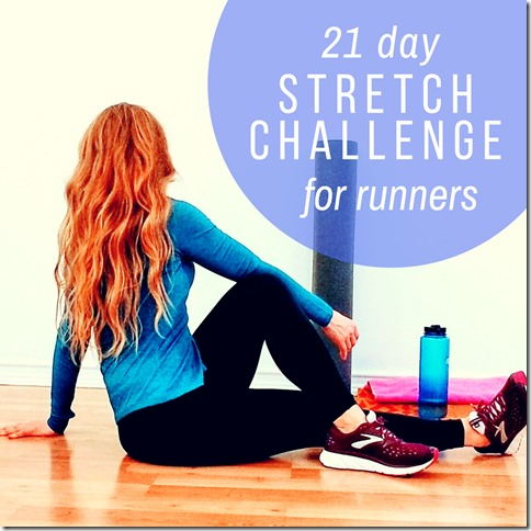 21 day stretch challenge for runners IG