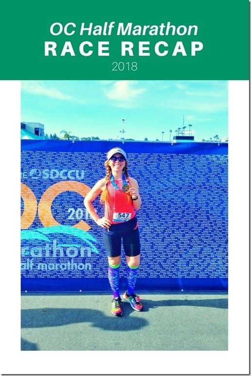 OC half marathon results and recap