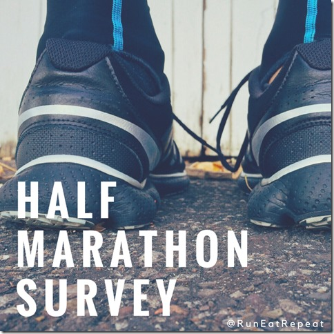 half marathon survey