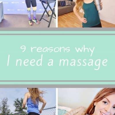 9 Reasons I Need a Massage Membership