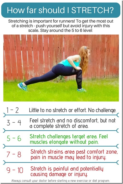 How to stretch for runners