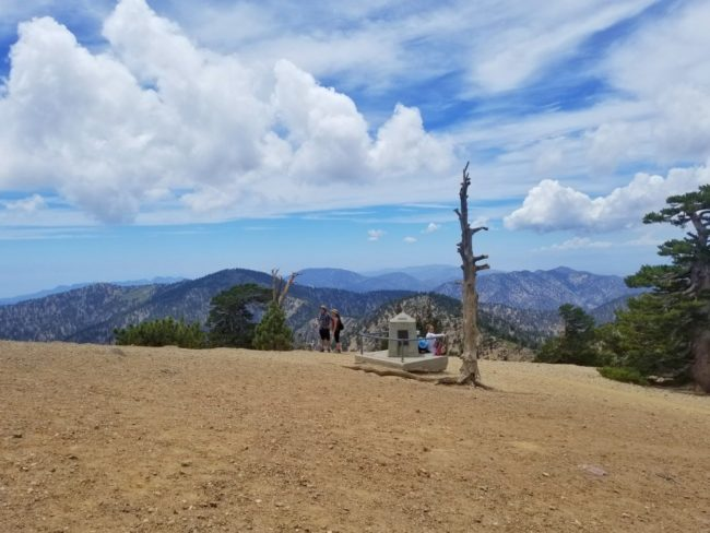 top of Mount Baden-Powell climb