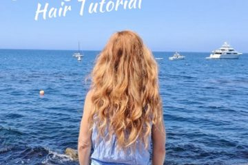 Hair Tutorial–Beachy Waves with Hot Rollers