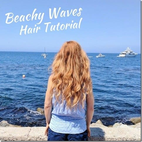 Beachy Waves Hair Tutorial (800x800)