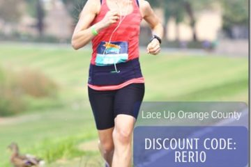 Lace Up Running Orange County Race GIVEAWAY on Instagram & Discount