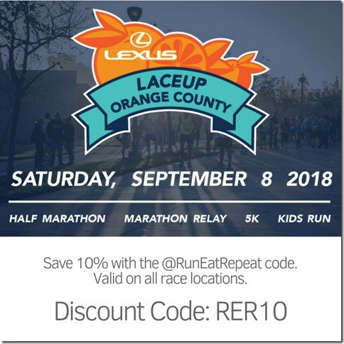 Lace Up Race Orange County Discount Code_ RER10