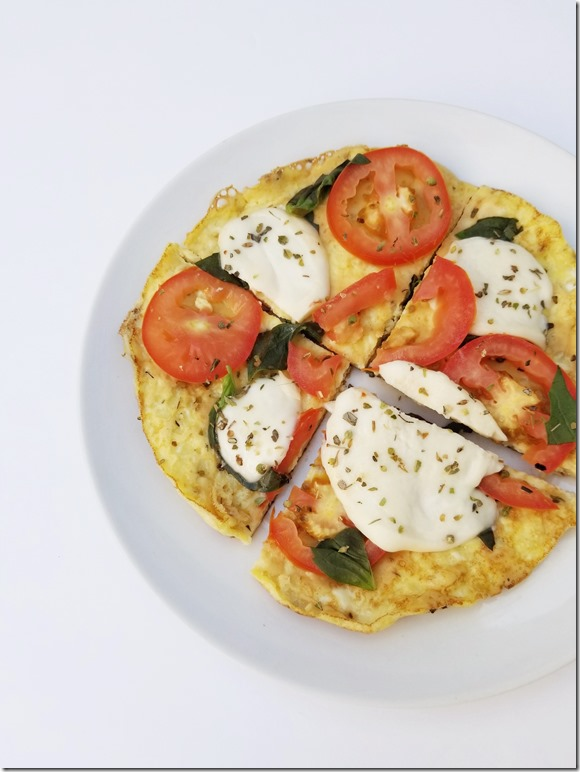 pizza omelet recipe with eggs 4
