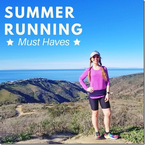 summer running gear must haves