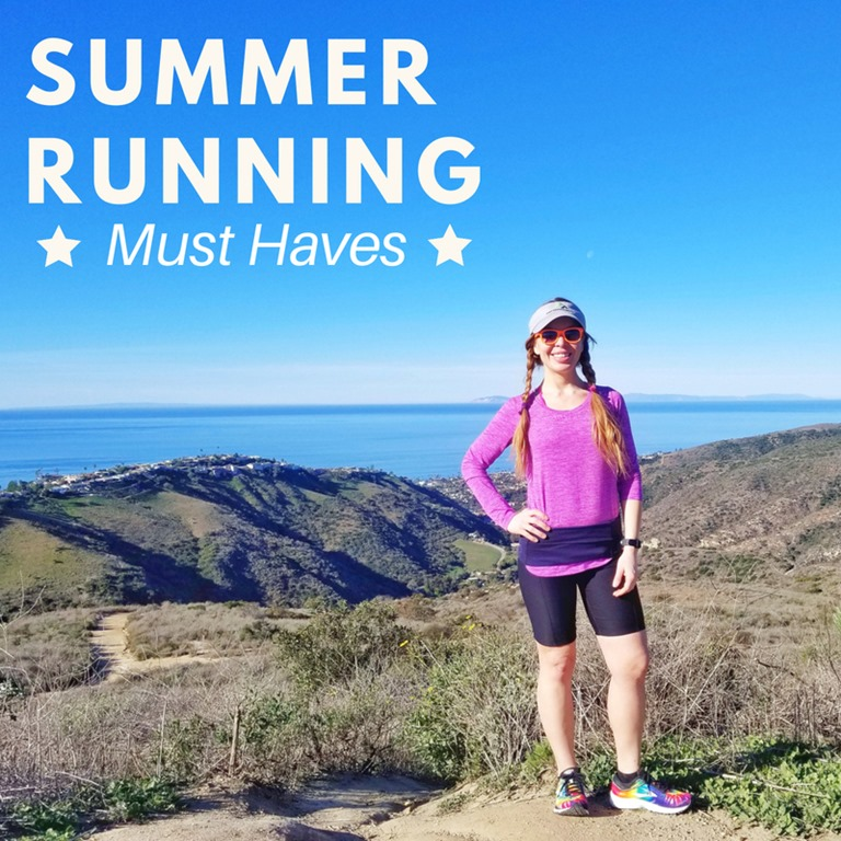 Summer Running Must Haves–The BEST Gear from Head to Toes!