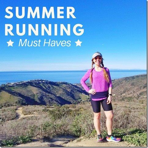 summer running gear must haves