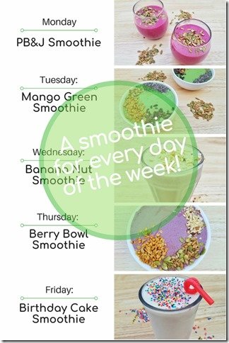 5 smoothie recipes with yogurt for every day of the week (1) (534x800)