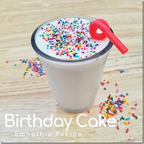 Birthday Cake Smoothie Recipe