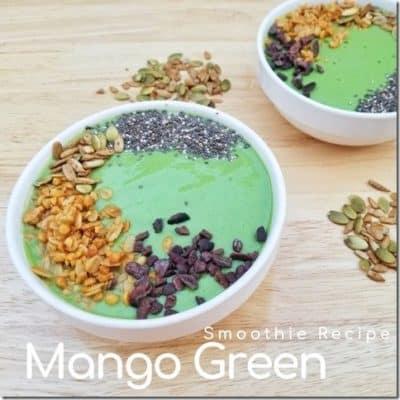 ManGo Green Smoothie Bowl Recipe:
