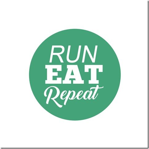 Run Eat Repeat pod logo