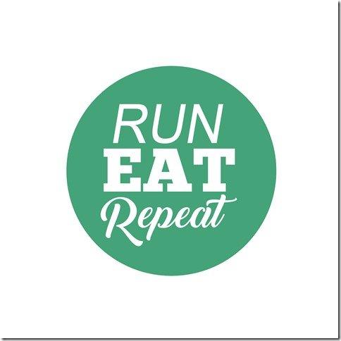 Run Eat Repeat pod logo