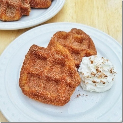 churro waffles recipe with refrigerated biscuit dough