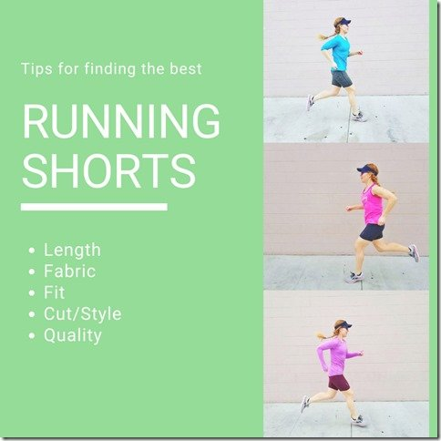 the best running shorts length fabric podcast