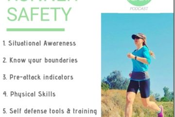 How Runners Can Prevent and Defend Themselves Against Attacks - Podcast 94