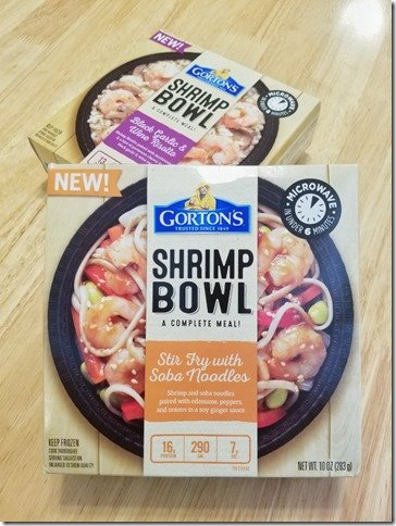 Gortons Shrimp Bowl frozen food