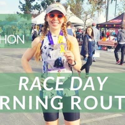 Half Marathon Race Morning Routine Video