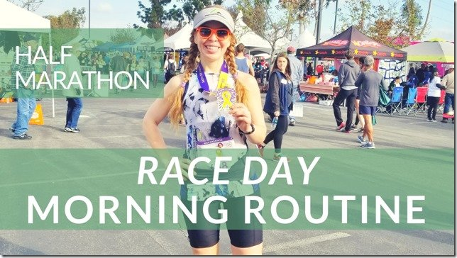 Half Marathon Race Day Morning Routine video