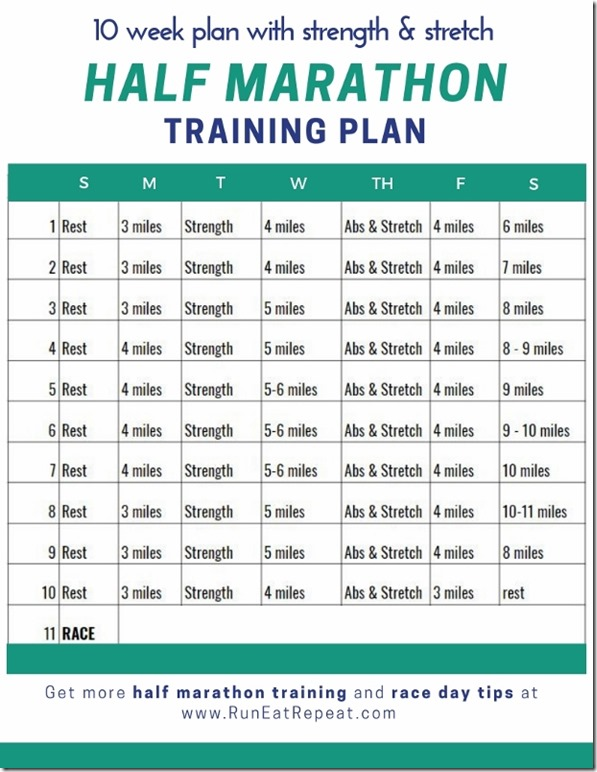 Half Marathon training plan 10 weeks (618x800)