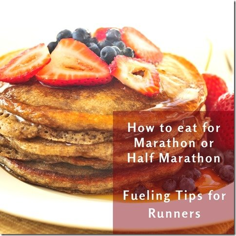 How to eat before marathon or half marathon tips