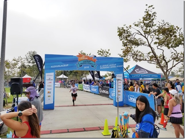 Lexus Lace Up Half Marathon irvine finish results (800x600)