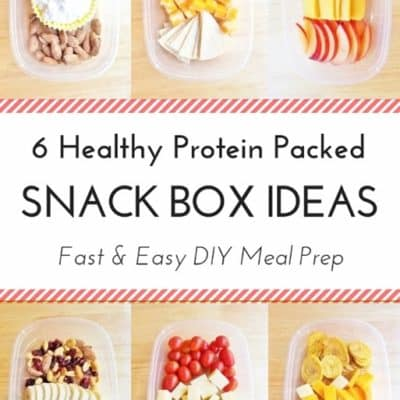 6 Healthy Protein Packed Snack Box Ideas