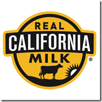 Real California Milk logo recipe snack ideas