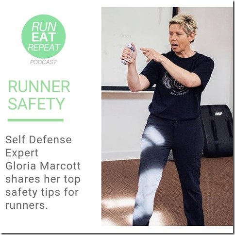 Runner safety tips with self defense expert Gloria Marcott (800x800)