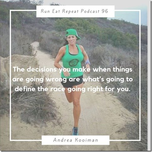 Running Coach Andrea Kooiman podcast