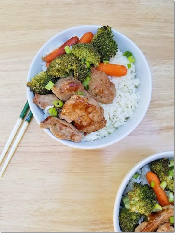 Healthy Pork Teriyaki Bowl Recipe w Farmer John (433x577)