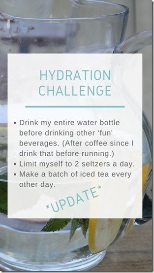 Hydration Challenge Update