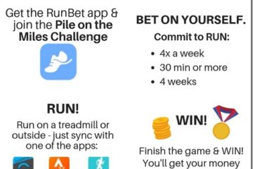 Pile on the Miles Run Bet Challenge 2018