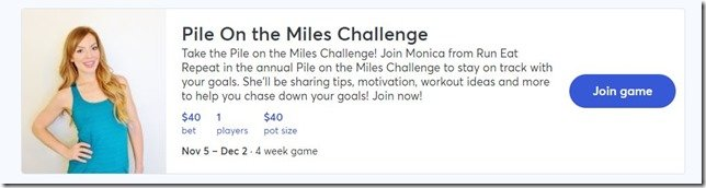 Pile on the Miles Challenge 2018