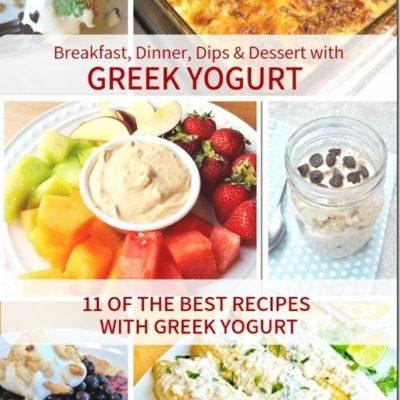 11 Top Greek Yogurt Recipes and Reviews