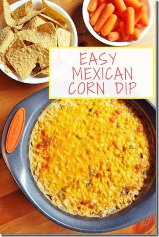 Easy Mexican Corn Dip Recipe