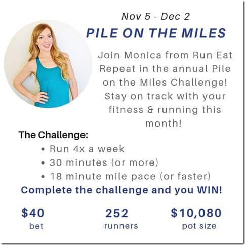 Pile on the Miles last starts tomorrow
