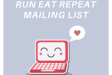 New Running Survey and Mailing List